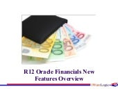 Oracle R12 Financials New Features ...