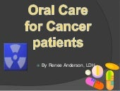 Oral care for cancer patients  powe...