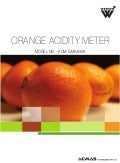 Orange Acidity Meter by ACMAS Technologies Pvt Ltd.