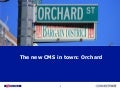 Orchard -  the new cms in town