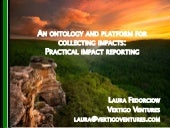 An ontology and platform for collecting impact: practical impact reporting