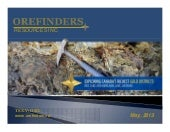 Orefinders may13pres