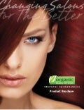 Organic Hair Color Product Brochure