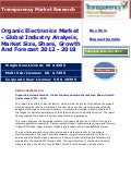 Organic Electronics Market - Global Industry Analysis, Market Size, Share, Growth And Forecast 2012 - 2018