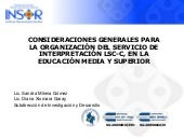 Organiza servicio interpretacion oct31