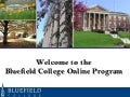 Bluefield Online Orientation May 2014