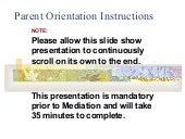 Orientation To Mediation (English)