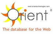 OrientDB the database for the web 1.1