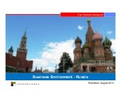 Investment Profile: Russia