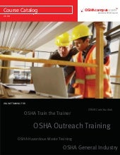 Osha training courses