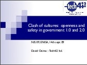 Presentation at ENISA summer school