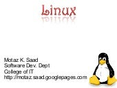 OS Lab: Introduction to Linux