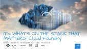 OpenStack + Cloud Foundry for the OpenStack Boston Meetup
