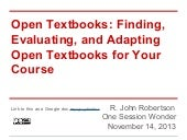 Osw Open Textbooks