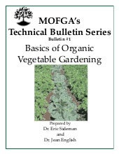 Basics of Organic Vegetable Gardening