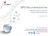 Collateralisation: CVA & FVA - Mure...