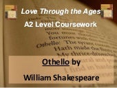 Othello   a2 literature