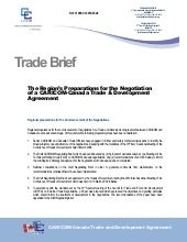 OTN - Trade Brief on CARICOM-Canada...