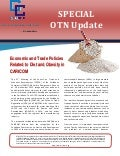OTN Special Update - Economic and Trade Policies Related to Diet and Obesity in CARICOM [2013!11!21]