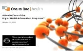 One to One Health: A Guided Tour of...