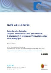 Living Lab e-Inclusion - Rapport de...