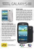 Premium Protection for Samsung Galaxy S3 from OtterBox