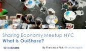 OuiShare NYC Meetup Januar 2015: What is OuiShare?