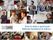 OuiShare Editorial Guidelines