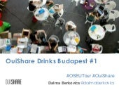 OuiShare Central and Eastern European Tour - First Drinks in Budapest