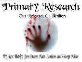 Our Presentation, Thriller research