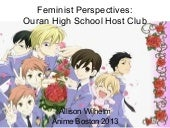 Feminist Perspectives: Ouran High S...