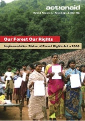Our Forest Our Rights - Report on t...