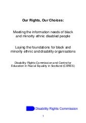 Our Rights, Our Choices: Meeting th...