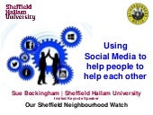 Our Sheffield Neighbourhood Watch