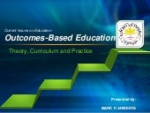Outcomes based education