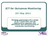 Outcomes & ict lewisham