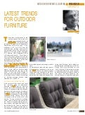 Outdoor Furniture - World furniture International market review by CSIL nr. 64 - December 2014