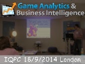 Mobile Game Analytics: Presentation by Outplay at Games Analytics and BI Forum