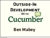 Outside-In Development With Cucumber