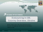 Outsourcing to Ukraine.Country over...