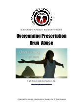 Overcoming Prescription Drug Abuse