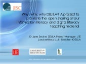 Why, why, why DELILA? A project to ...