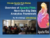 Overview of Apache Flink: Next-Gen Big Data Analytics Framework
