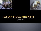 Overview Of Indian Stock Market