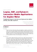 Logica, SAP, and Sybase's Innovative Mobile Applications for Anglian Water