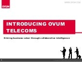 Ovum Telecom Advisory Overview General