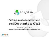 EasySOA thanks to OW2 - OW2Con 2011