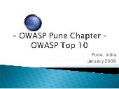 Owasp Top 10 - Owasp Pune Chapter -...
