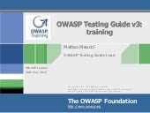 Owasp london training course 2010 -...