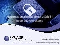 Software Freedom day Serbia - Owasp - informaciona bezbednost u Srbiji open source resenja
